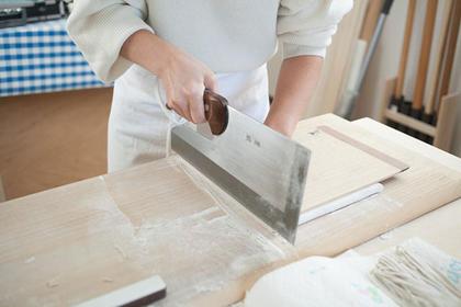 Make Botan Soba in Onjuku
