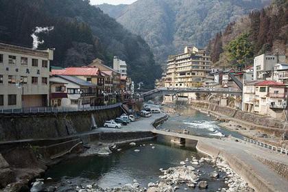 Tsuetate Onsen Town, Kumamoto