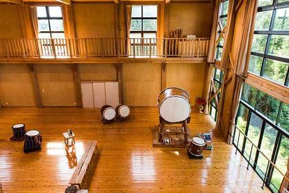 Taiko Drumming at Sado Island Taiko Centre