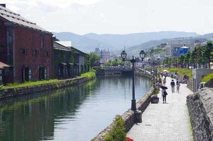 <積丹岬から北に延びる北海道の大地が望める>小樽・積丹コース