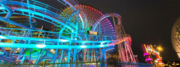 <港町の夜景を眺めながら走るナイトドライブ>横浜ベイエリアコース