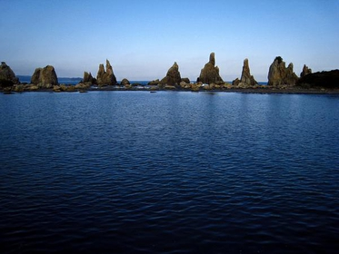 <日本の朝日百選の風景>那智の滝・橋杭岩コース