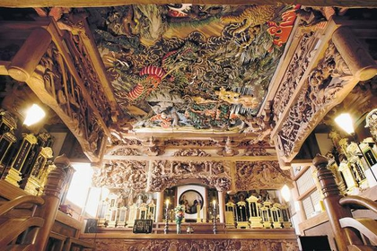 <素晴らしい彫刻の寺院めぐり>西福寺・永林寺コース