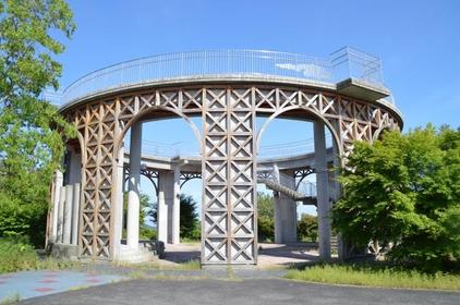 주몬지야마 공원 전망대 image