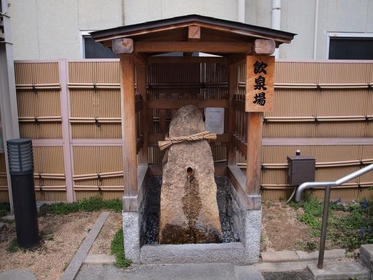 Foot Bath and Drinking Springs, in front of Yuda Hot Springs Tourist Information image