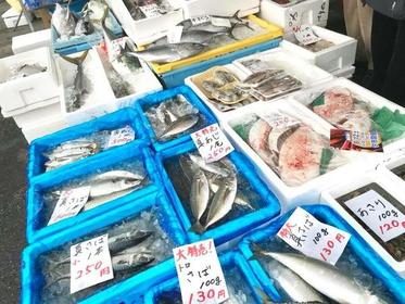 大原漁港 港の朝市 image
