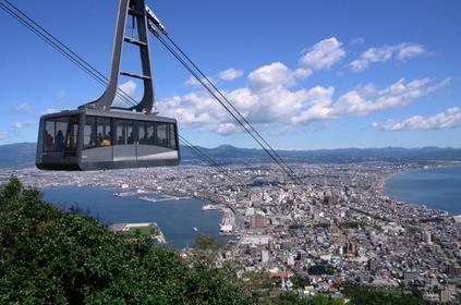 하코다테야마 산 정상 전망대 image