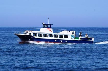 但马海岸玻璃船底游览船 image