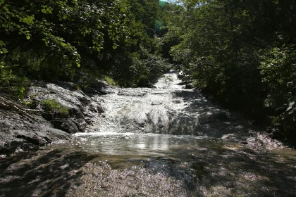 カムイワッカ湯の滝 image