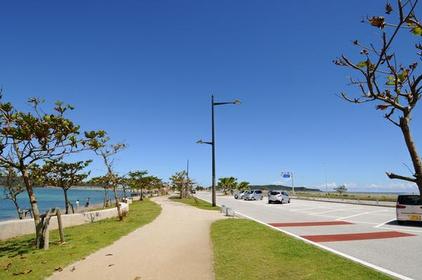 海中道路 image