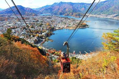 河口湖天上山公園Kachikachi山纜車 image