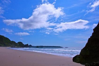 기사미오하마 해변 image