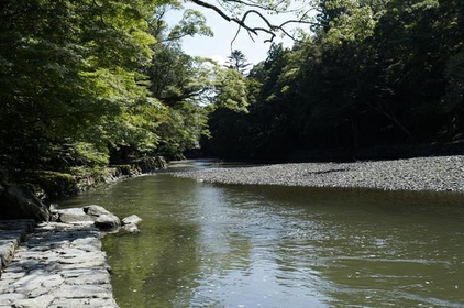 Isuzugawa River Mitarashi image