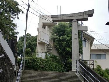 山王神社二之鸟居(一本柱鸟居) image