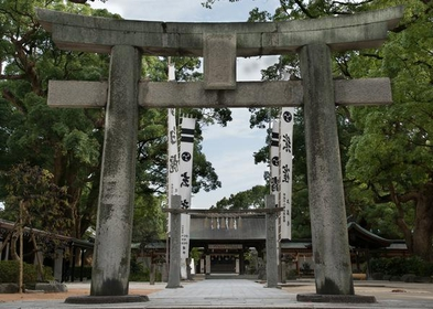 Umi Hachimangu Shrine image