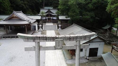 西寒多神社 image