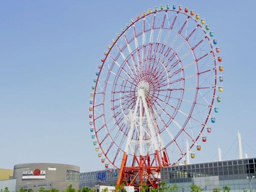 Giant Sky Wheel in palette town image