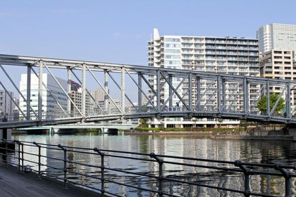 Tennozu Isle Fureai Bridge image