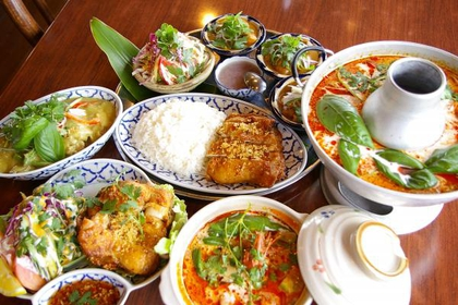 アジアンハーブレストランカフェ くるくま image