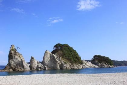 浄土ケ浜海水浴場 image