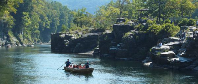 Arakawa Line Kudari (River boating) image