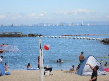 ときめきビーチ(淡輪海水浴場) image