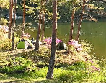 おおぐて湖キャンプ場 image