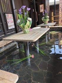嵐山温泉 「駅の足湯」 image