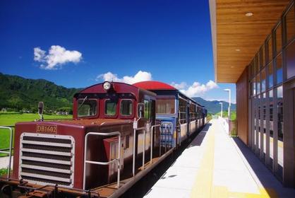 "Railway torokko train ""Yusuge-go"" image"