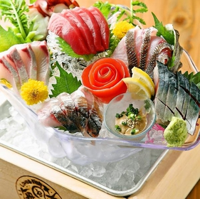 "Seafood & Vegetable Warayaki and Robata ""Seafood"" image"