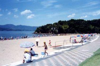 伊萬里海灘(伊萬里人工海濱公園) image