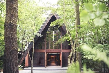 軽井沢高原教会 image