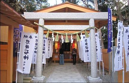 神明神社(石神さん) image