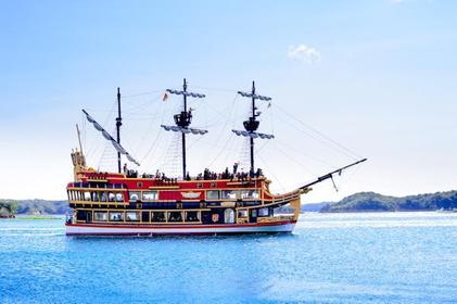 贤岛西班牙游览船 image