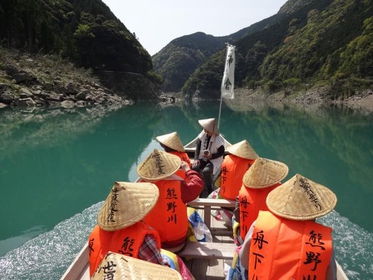 熊野川舟下り image