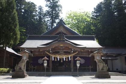 白山比び神社 image