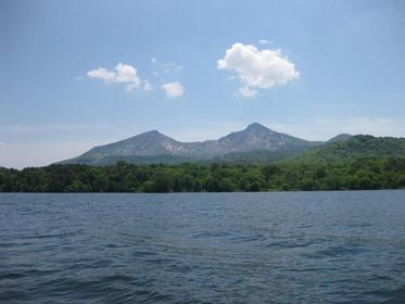 桧原湖 image