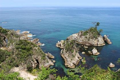浦富海岸 image