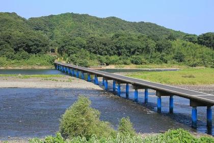 佐田沈下橋 image