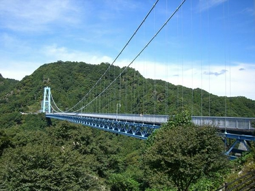 Ryujin Big Suspension Bridge image