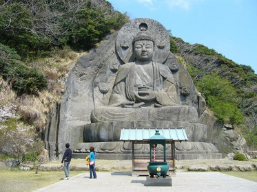 鋸山 日本寺 image