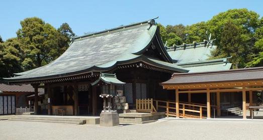 武藏一宫 冰川神社 image