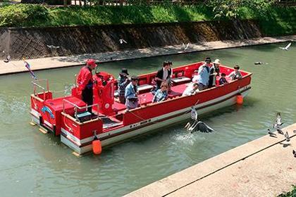 松川游览船 image