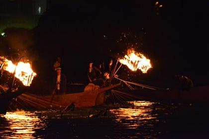 小瀨鸕鶿捕魚 image