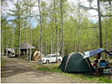 高ソメキャンプ場 image