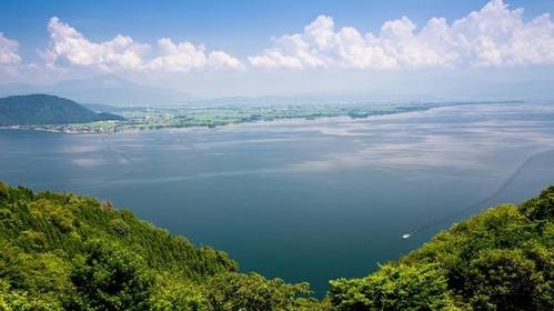 奥琵琶湖公园道路 image