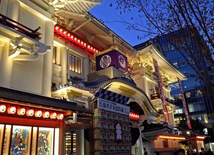 도쿄의 극장 안내