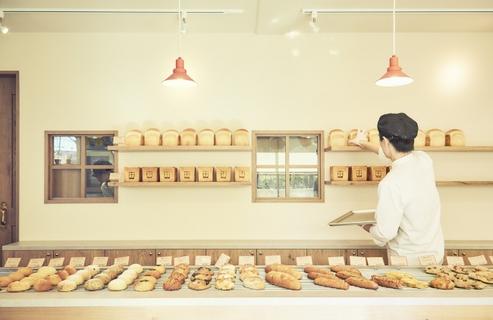 도쿄 도내에서 정말 맛있는 고급 식빵을 구입할 수 있는 베이커리