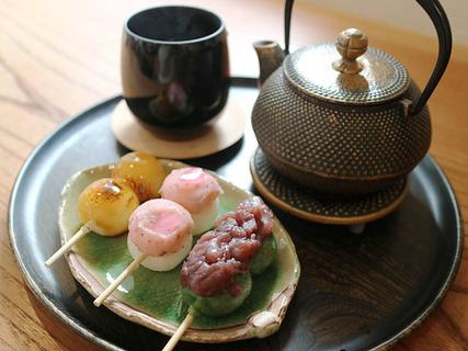 金沢の和菓子屋さんが手掛けるカフェ