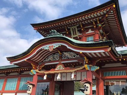 How to explore the Hofu Tenmangu Shrine area in Hofu